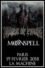 CRADLE OF FILTH / MOONSPELL - 19 février 2018@La Machine du Moulin Rouge Paris CRADLE-OF-FILTH_3688866686750374070